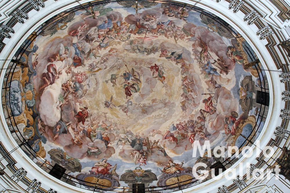 Bóveda de la Basílica de Ntra. Sra. de los Desamparados, Valencia. Foto: Manolo Guallart