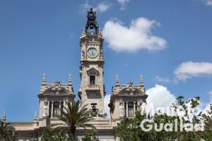 Ayuntamiento de Valencia (detalle). Foto de Manolo Guallart.