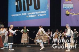 Grup de Danses de Ontinyent, tercer premio en Sona la Dipu 2015. Foto de Manolo Guallart.