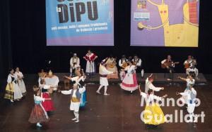Grup de Danses Xafarnat de Paterna en Sona la Dipu 2015. Foto de Manolo Guallart.