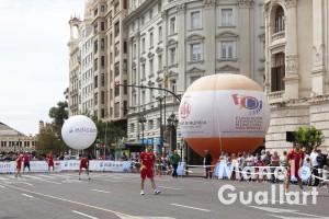 Entrenamiento de la selección valenciana. Dia de la Pila Valenciana. Foto de Manolo Guallart.