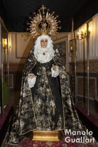 Virgen de los Dolores del Grao. Foto de Manolo Guallart.