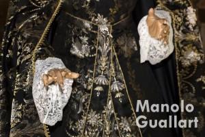 Virgen de los Dolores del Grao (detalle). Foto de Manolo Guallart.