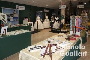 Panorámica de la exposición tradicional valenciana en Na Jordana. Foto de Manolo Guallart.