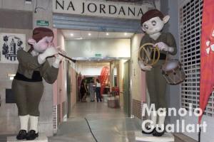 Entrada de la sede de Na Jordana. Foto de Manolo Guallart.