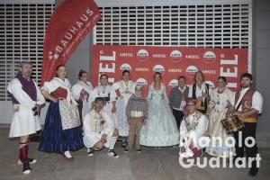Participantes de la dancà en Na Jordana. Foto de Manolo Guallart.