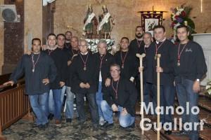 Clavarios de los Santos de la Piedra, Abdón y Senén. Foto de Manolo Guallart.