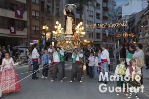 San Vicente Ferrer en la procesión de San Miguel en Lliria. Foto de Manolo Guallart.