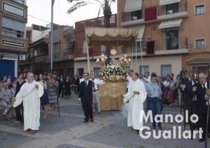 Procesion del Corpus en Almassera. Foto de Manolo Guallart.