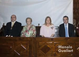 Javier Domenech, Pepita García, Carmen de Rosa e Ignacio Sánchez. Foto de Manolo Guallart.