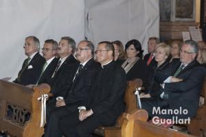 Participación vicentina y cultural valenciana en el acto del altar del Tossal. Foto de Manolo Guallart.