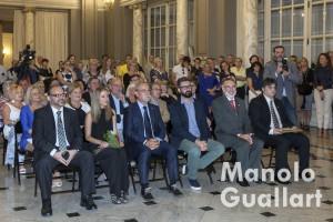 Aspecto del Salón de Cristal del Ayuntamiento de Valencia en el Pregón. Foto de Manolo Guallart.