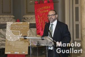 Salvador Lluch, capitán moro. Foto de Manolo Guallart.