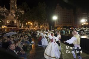 Actuación del Grup de Danses Alimara. Foto de Manolo Guallart.