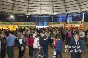 Éxito de asistencia a la Feria de Casinos. Foto de Manolo Guallart.