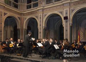 Orquesta de pols i púa Ntra. Sra. de Tejada. Foto de Manolo Guallart.