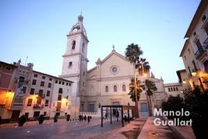 Colegiata de la Asunción de Nuestra Señora en Xàtiva, templo jubilar del Año Santo de la Misericordia. Foto de Manolo Guallart.