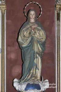 Imagen de la parroquia Nª Sª de la Merced (Mercedarios) en Valencia. Foto de Manolo Guallart.