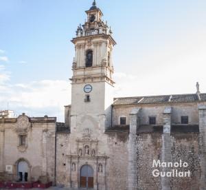 Basílica de san Jaime Apóstol en Algemesí, templo jubilar del Año Santo de la Misericordia. Foto de Manolo Guallart.