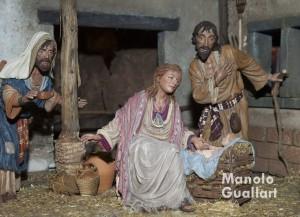 Nacimiento del belén de Pedro Ródenas en el Ayuntamiento de Valencia. Foto de Manolo Guallart.