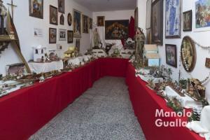 Belenes de Fray Conrado que pueden ser adquiridos este año en el convento de San José de Valencia. Foto de Manolo Guallart.
