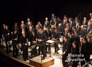 Concierto de la Banda Municipal de Valencia, dirigida por Fernando Bonete. Foto de Manolo Guallart.