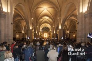 La catedral de Valencia llena, como en los grandes momentos. Foto de Manolo Guallart.