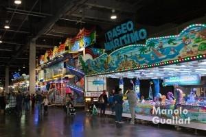 Atracciones de feria en Expo Jove. Foto de Manolo Guallart.