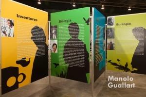 Mujeres científicas en la Historia. Foto de Manolo Guallart.