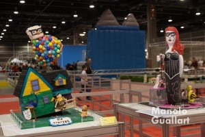 Maquetas de fallas infantiles en Expo Jove. Foto de Manolo Guallart.