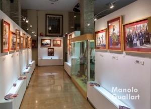 Aspecto de la exposición de Pedro Molero. Foto de Manolo Guallart.