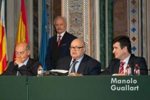 Discurso del presidente de ARCHIVAL José Luis Lliso Ruiz. Foto de Manolo Guallart.