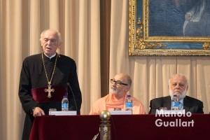 Representante de la Iglesia ortodoxa. Foto de Manolo Guallart.