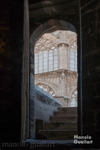 En lo recóndito de la Catedral de Valencia. Foto de Manolo Guallart.