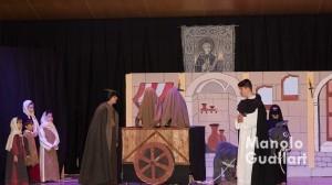 "Escena de ""Les Creu de Salamanca"", de Rafael Meliá, milagros ganador en el concurso. Foto de Manolo Guallart."