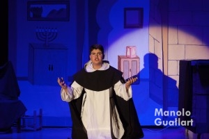 Quique Navarro, del Altar del Pilar, mejor San Vicente en el concurso de milagros. Foto de Manolo Guallart.