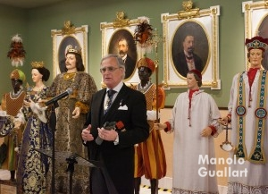 Ballester-Olmos, Lloctinent General, destacó el estímulo de los Caballeros Jurados. Foto de Manolo Guallart.