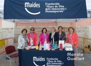 La Fundación Maides en el Besamano a la Virgen. Foto de Manolo Guallart.