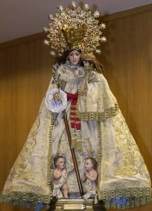 La Mare de Déu de Lo Rat Penat. Foto de Manolo Guallart.