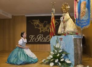 Concurs de declamació infantil en llengua valenciana en honor de la Mare de Déu dels Desamparats. Foto de Manolo Guallart.