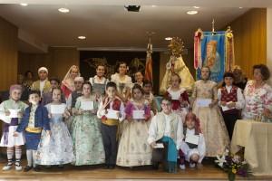 Participants en el Concurs de declamació infantil 2015. Foto de Manolo Guallart.