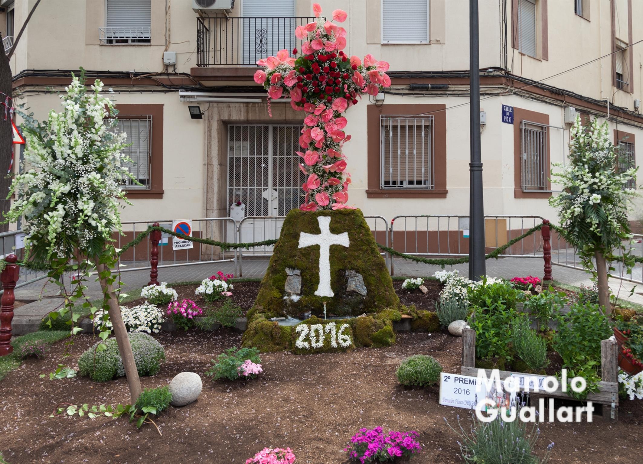 2º premio Categoría A (JUNTA DE FESTES NOSTRA SRA, MARE DE DEU DELS DESAMPARATS DE PATRAIX). Foto de Manolo Guallart.