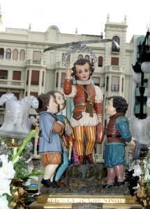 Imagen de San Vicente Ferrer Niño de la Festa dels Xiquets. Foto de Manolo Guallart.