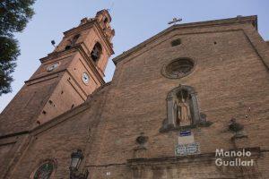 La iglesia de San Luis Beltrán en Valencia. Foto de Manolo Guallart.