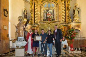 Mestre Campaners en su reconocimiento a José Muñoz. Foto de Manolo Guallart