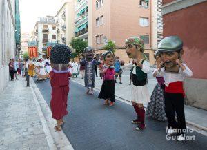 """""""Cabuts"""" del Grup de Dances de Benifaió. Foto de Manolo Guallart."""