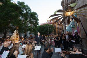 """""""Cant de la cartxofa"""" en la Virgen del Carmen. Foto de Manolo Guallart."""