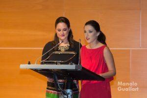 Amparo del Remedio y Amparo Lloret, Cortes de Honor 2015. Foto de Manolo Guallart.