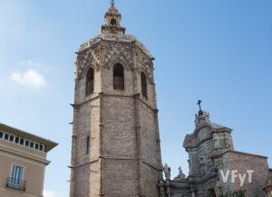 La torre del Miguelete de la Catedral de Valencia. Foto de Manolo Guallart.