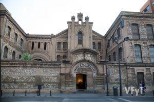 Fachada del convento de clarisa capuchinas en la Avda.Pérez Galdós de Valencia. Foto de Manolo Guallart.